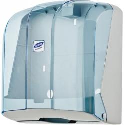 Держатель для листовых полотенец Luscan Professional V пластиковый синий прозрачный