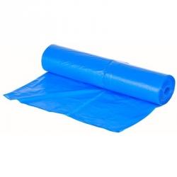 Мешки для мусора ароматизированные После дождя на 30 литров синие (12 мкм в рулоне 30 штук 50х60 см)