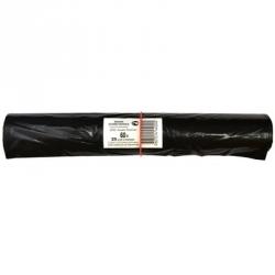 Мешки для мусора на 60 литров Концепция Быта Профи черные (25 мкм, в рулоне 25 штук 60x70 см)