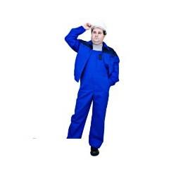 Костюм мужской Рейнир+ (куртка/полукомб.), цвет васильковый/синий (р.60-62,р.170-176)