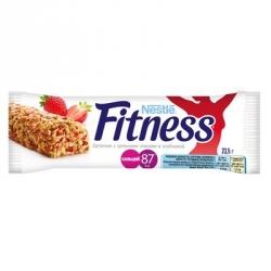Батончик Fitness с цельными злаками и клубникой (24 батончика по 23.5 г)