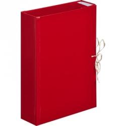 Папка архивная с 4 завязками A4 Attache (8 см, бумвинил)