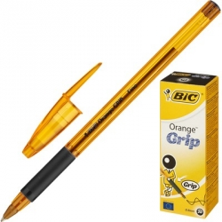Ручка шариковая BIC Orange grip fine