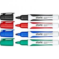 Набор маркеров для досок Attache Selection Rarity 4цв., 2-3мм