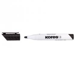Маркер для досок Kores 20830, круглый наконечник, черный, 3 мм