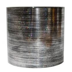 Набор из 3-х горшков для цветов SimpleGarden Серебро 1/1.7/2.8 л