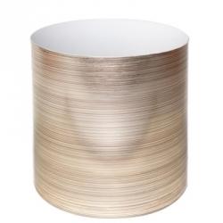 Набор из 3-х горшков для цветов SimpleGarden Золото 1/1.7/2.8 л