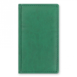 Алфавитная книжка Attache Вива (А6, 85х145мм, кожзам, зеленый)