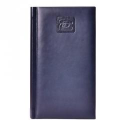 Алфавитная книжка Attache Каньон (А6, 92-160мм, кожзам, синий)