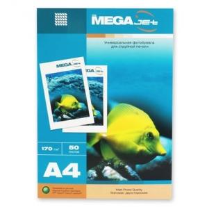 Бумага для струйной печати MEGA Jet (матовая, А4, 200г/м2, 50 листов)