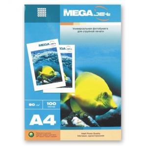 Бумага для струйной печати MEGA Jet (матовая, А4, 90г/м2, 100 листов)