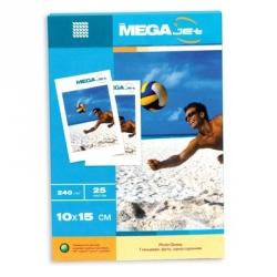 Фотобумага MEGA Jet Photo (10х15, 240г/м2, 25 листов)