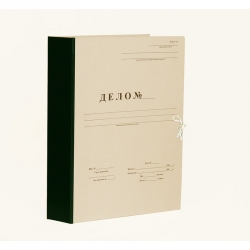 Папка архивная на завязках с гребешками А4 Дело Форма 21 50 мм