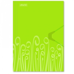 Папка на резинке Attache Fantasy А4 пластиковая салатовая (0.45 мм, до 200 листов)