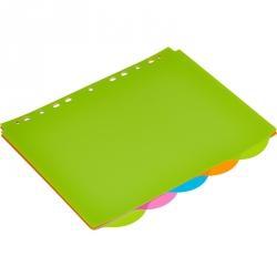 Разделитель листов Attache Selection А4+ пластиковый 5 листов