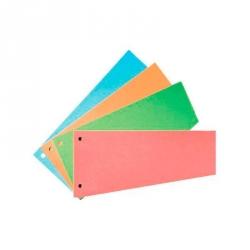 Разделитель листов Attache картонный 100 листов розовый (230x120 мм)