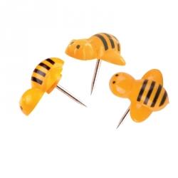 Кнопки силовые Attache Selection Пчелы 10 мм (20 штук в упаковке)