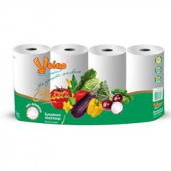 Полотенца бумажные VEIRO Classic 2-сл.,с тисн., 4рул./уп.