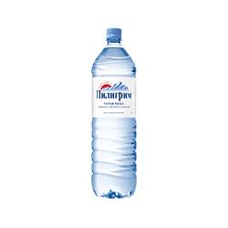 """Вода горная ледниковая """"Пилигрим"""" 1,5л без газа (6шт/уп)"""