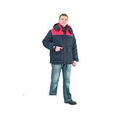 Куртка Инженер , цвет синий/красный (размер 48-50, рост 182-188)