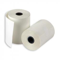 Чековая лента из термобумаги ProMega 57 мм x 25 м (диаметр втулки 12 мм, 21 штука в упаковке)
