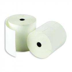 Чековая лента ProMega из термобумаги 80 мм x 80 м (диаметр втулки 12 мм, 8 штук в упаковке)