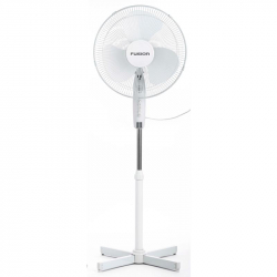 Вентилятор напольный Fusion FSF-30 white