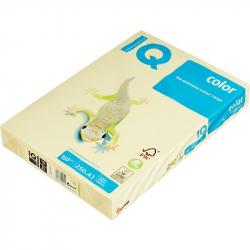 Бумага цветная для офисной техники IQ Color (А3, 160 г/кв.м, YE23-желтый, 250 листов)