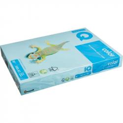 Бумага цветная для офисной техники IQ Color (А3, 80 г/кв.м, МВ30-голубой, 500 листов)