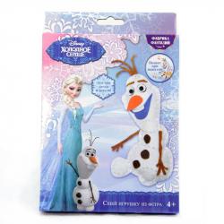 Набор для творчества Сшей игрушку Disney Холодное сердце Олаф (с пищалкой внутри)