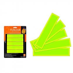 Наклейки светоотражающие, набор, 10 шт, TZ 15203