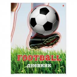 Дневник школьный для старших классов Альт Футбол твердая обложка