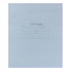 Тетрадь школьная (А5, 12 листов, косая линейка)