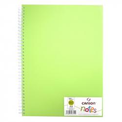 Блокнот Canson Notes А4 50 листов зеленый без линовки на спирали