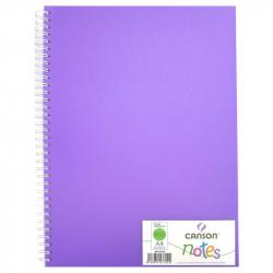 Блокнот Canson Notes А4 50 листов фиолетовый без линовки на спирали