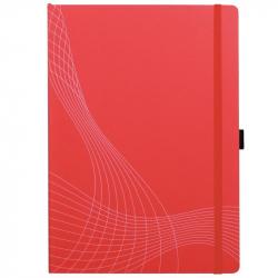 Блокнот Avery Zweckform А4 80 листов красный в клетку на сшивке (235х297 мм)