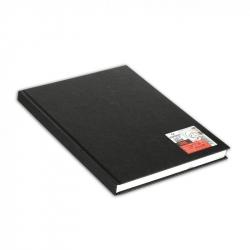 Блокнот для зарисовок Canson Artbook One А4 100 листов черный без линовки твердый переплет