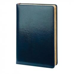Ежедневник датированный на 2018 год InFolio Britannia рециклированная кожа А5 176 листов синий (140x200 мм)