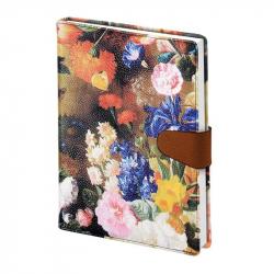 Ежедневник датированный на 2018 год InFolio Floria искусственная кожа А5 176 листов (140x200 мм)