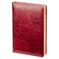 Ежедневник датированный на 2018 год InFolio Challenge искусственная кожа А5 176 листов бордовый (140x200 мм)
