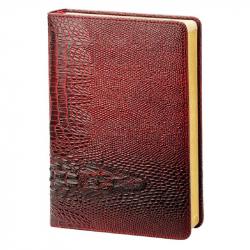 Ежедневник датированный на 2018 год InFolio Dandy искусственная кожа А5 176 листов бордовый (140x200 мм)