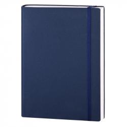 Ежедневник датированный на 2018 год InFolio Bland&Skin искусственная кожа А5 176 листов синий (140x200 мм)