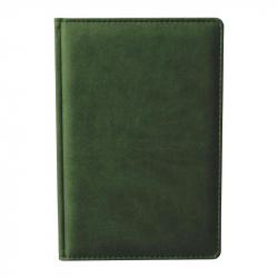 Ежедневник недатированный Attache Сиам А6 176 листов зеленый (110x155 мм)