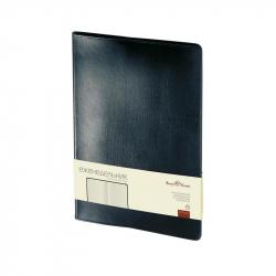 Еженедельник недатированный Bruno Visconti Profi натуральная кожа А4 64 листа черный (222x302 мм)