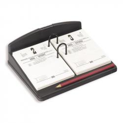 Подставка для перекидного календаря Uniplast черная (230x180x85 мм)