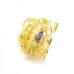 Лента декоративная категория 1 золотистая ажурная (5x270 см)